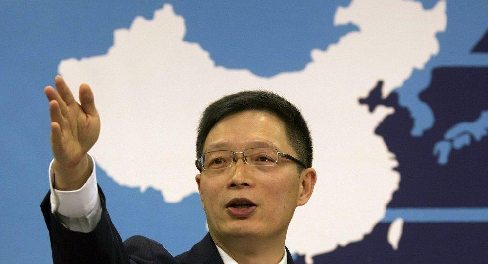 中国国台办新闻发言人安峰山