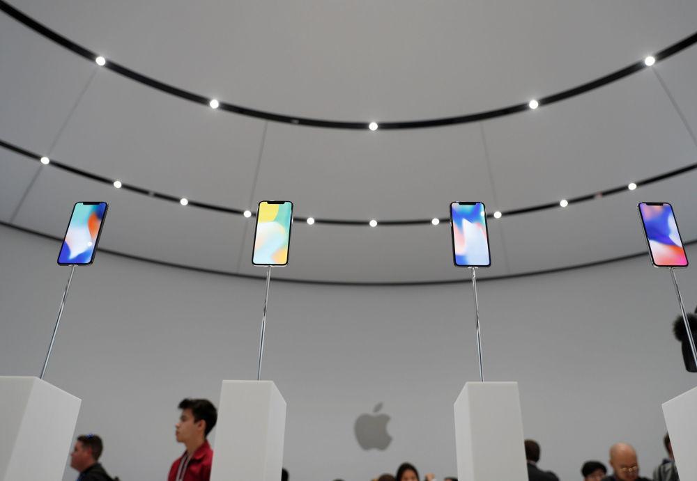 蘋果公司在加州新總部發佈iPhone X