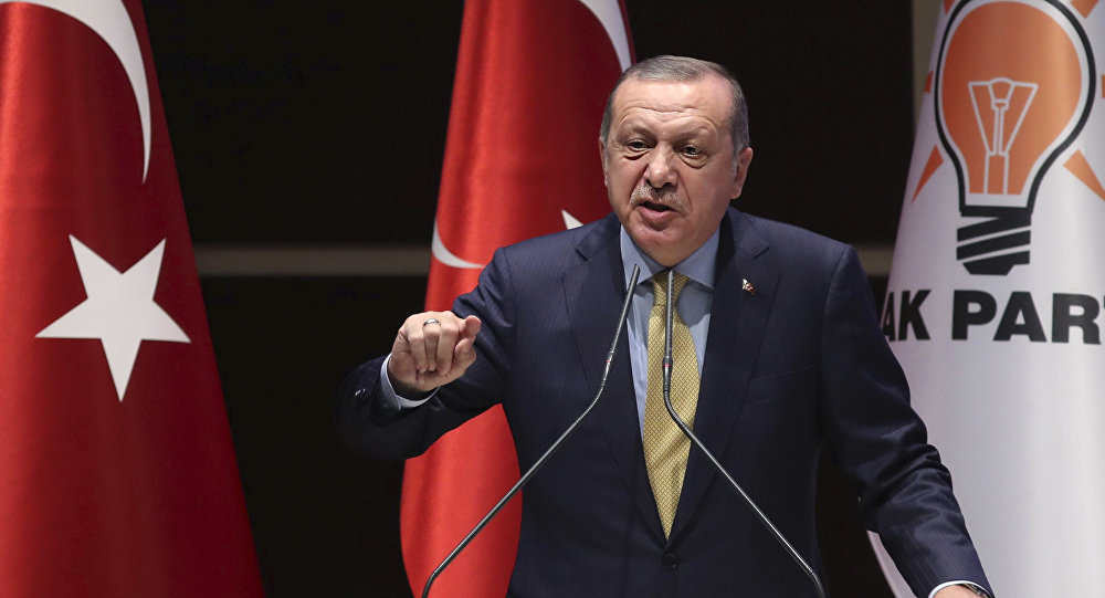 埃尔多安表示北约演习期间发生的挑衅行为针对的是土耳其