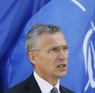 北約秘書長:俄中應該保障聯合國對朝鮮的制裁得到落實