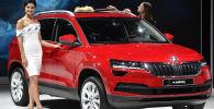 斯柯达品牌全新紧凑级SUV车型(Skoda Karoq)汽车模型