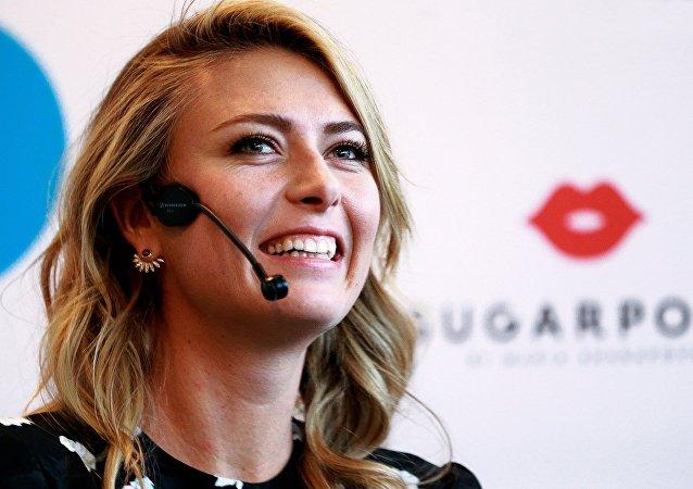 俄网球运动员玛丽亚·莎拉波娃称自己单身没有男朋友