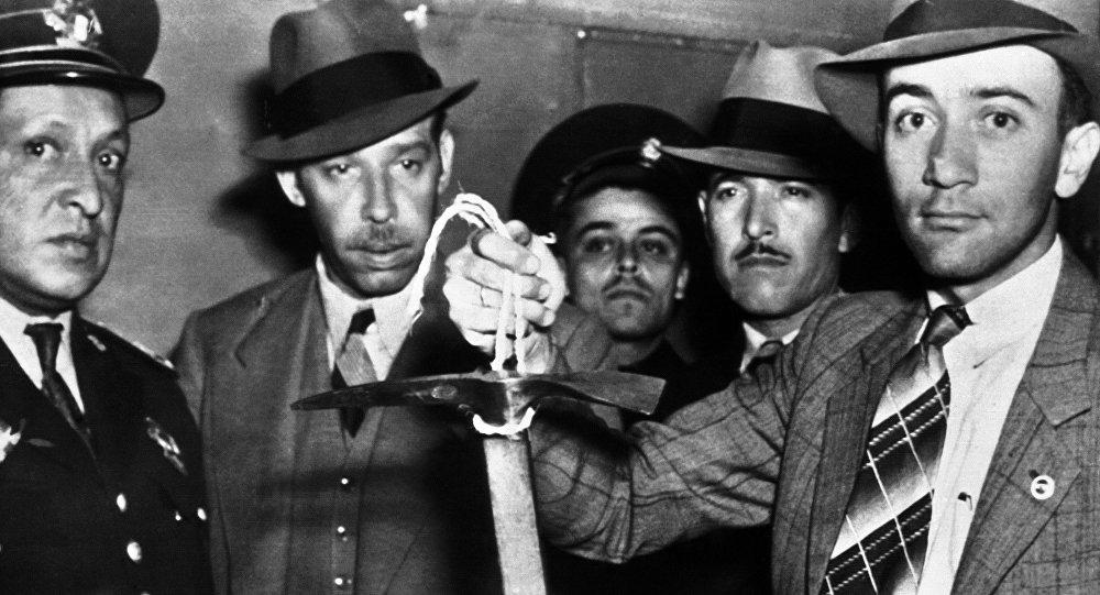 媒体:暗杀托洛茨基所用冰镐将在美博物馆首次向公众展出