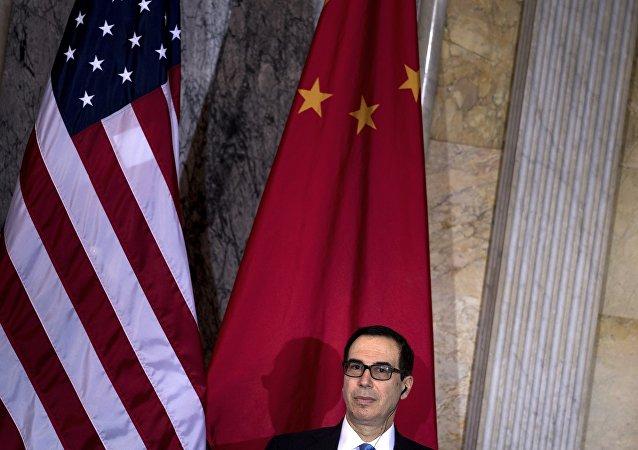 """面对""""双暂停""""倡议 美国以""""中断贸易""""要挟中国"""