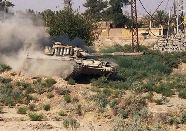 叙军夺得代尔祖尔市郊空军基地附近重要战略高地