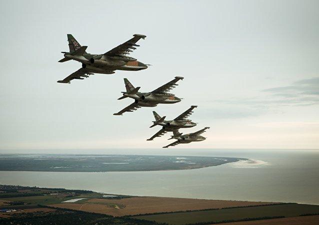 媒体:俄联邦空天军将在年底前列装Su-25SM3新型轰炸机