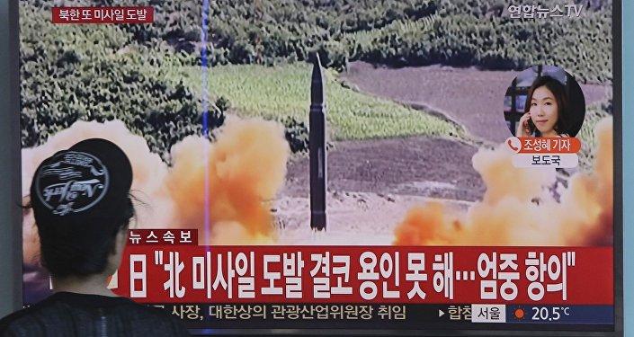 朝鲜发布消灭美国轰炸机及航空母舰的模拟视频