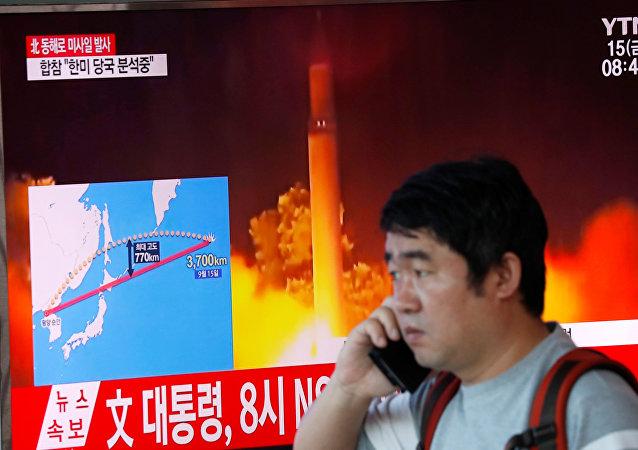 专家:朝鲜正在生产导弹的消息或属实 但此事不会改变美对朝政策
