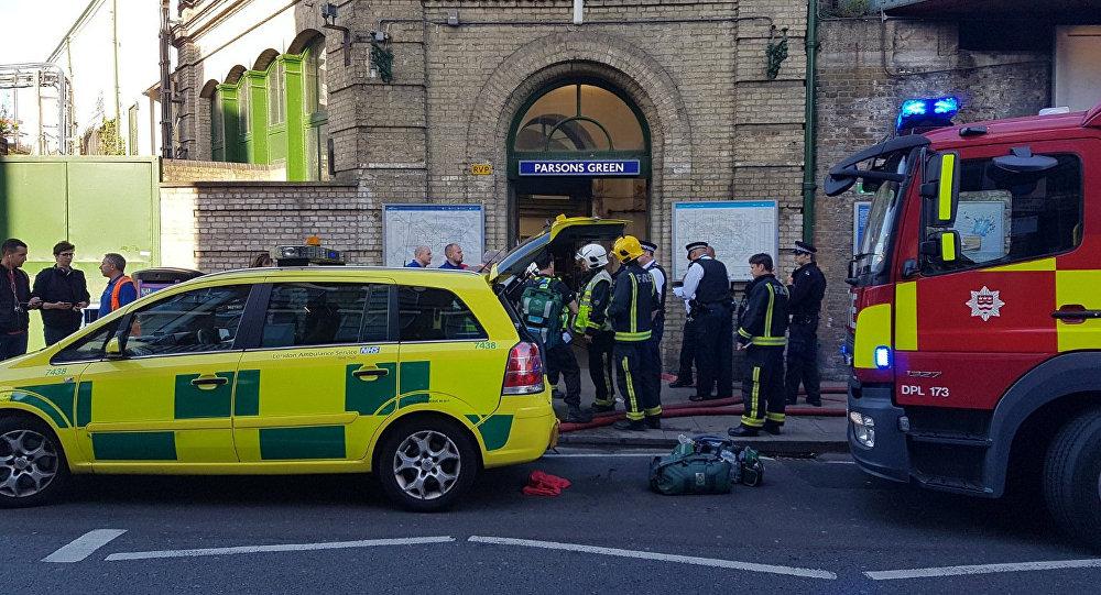 伦敦地铁事故