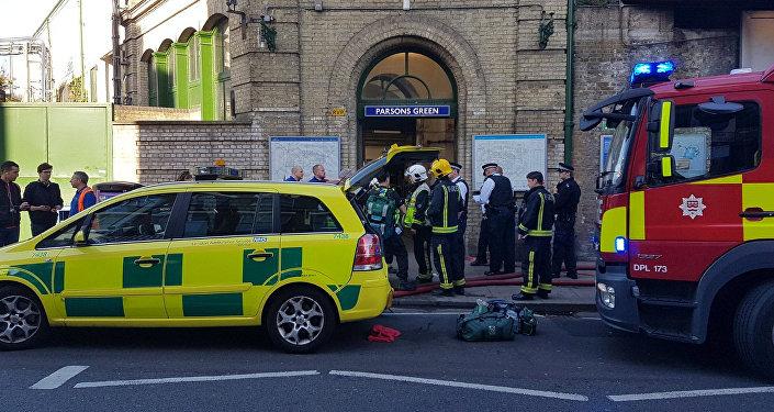 媒体:伦敦地铁恐袭案嫌疑人或是叙伊难民