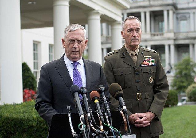 美国国防部部长马蒂斯
