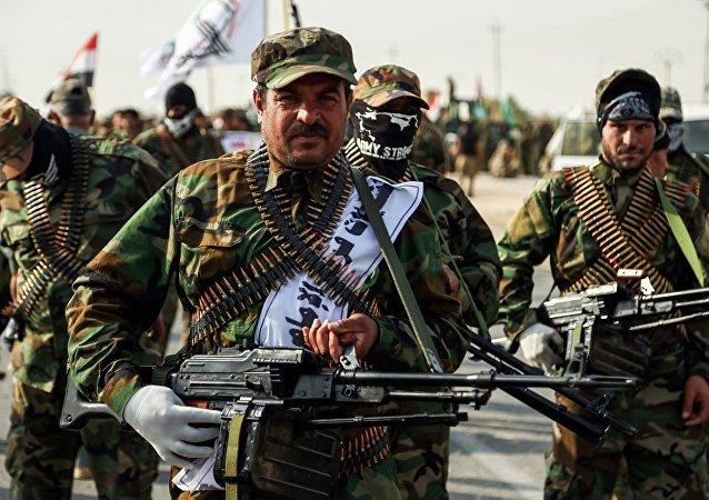 伊拉克军方:已解放伊叙边境城市