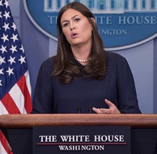 美國白宮發言人莎拉•桑德斯