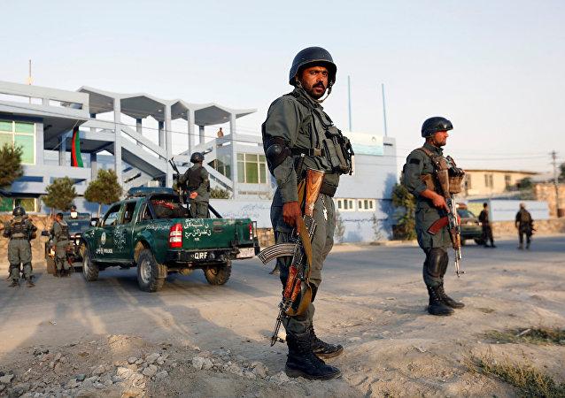 阿富汗一市场发生爆炸