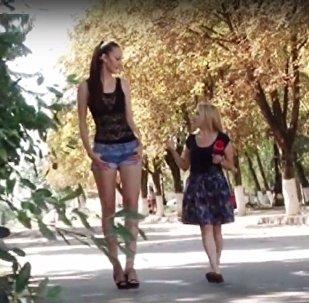 全世界腿最长的女人