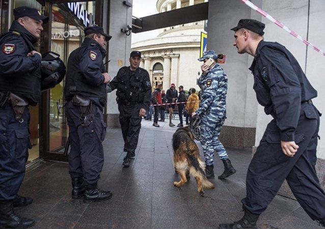 俄強力部門對9個城市逾25座受炸彈威脅的設施進行排查