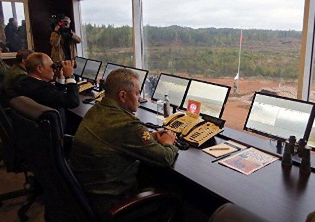 西方2017军演进入第五天普京与绍伊古予以高度评价