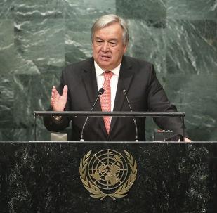 联合国秘书长在联大上谴责平壤的导弹与核试验