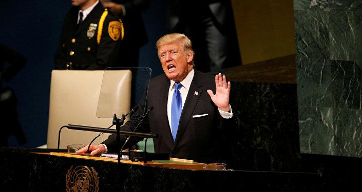 特朗普指責伊朗與朝鮮合作