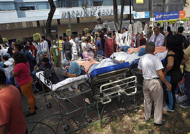 墨西哥联邦紧急救援部长证实该国地震致139人死亡