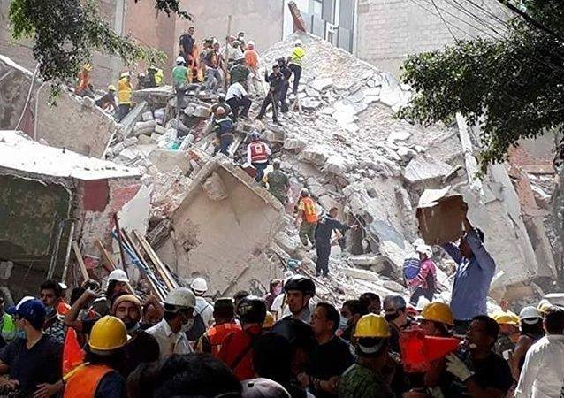 墨西哥地震导致的死亡人数已超225人