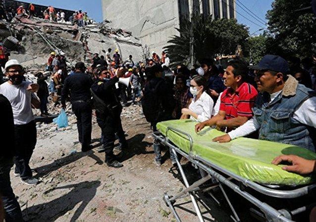 使馆:俄罗斯派出人道主义援助飞机前往墨西哥