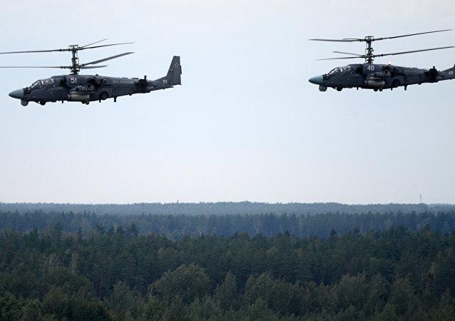 """俄罗斯航空队在""""西方-2017""""演习结束后将转场回家"""