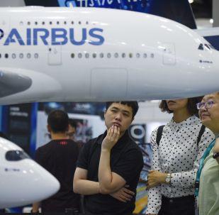 第17屆北京國際航空展的觀眾