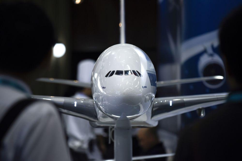 空客A380飞机模型