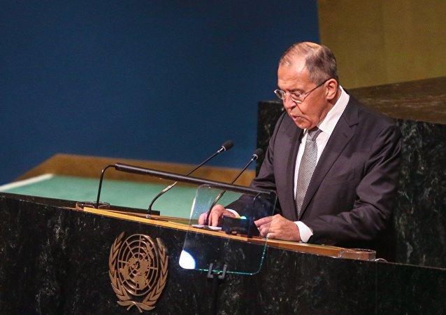 Выступление главы МИД РФ С.Лаврова на Генеральной Ассамблее ООН