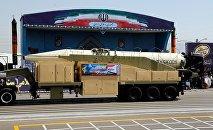媒體:伊朗展示射程2千公里的彈道導彈