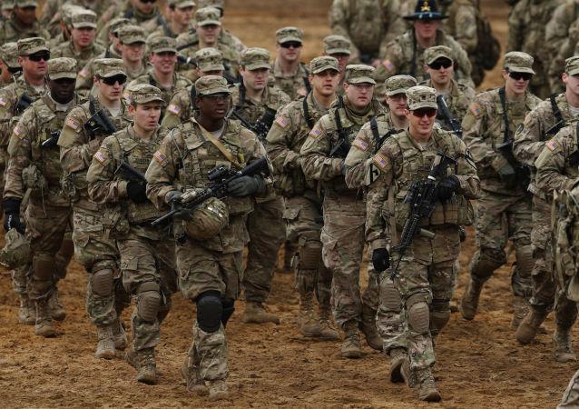 美军在立陶宛