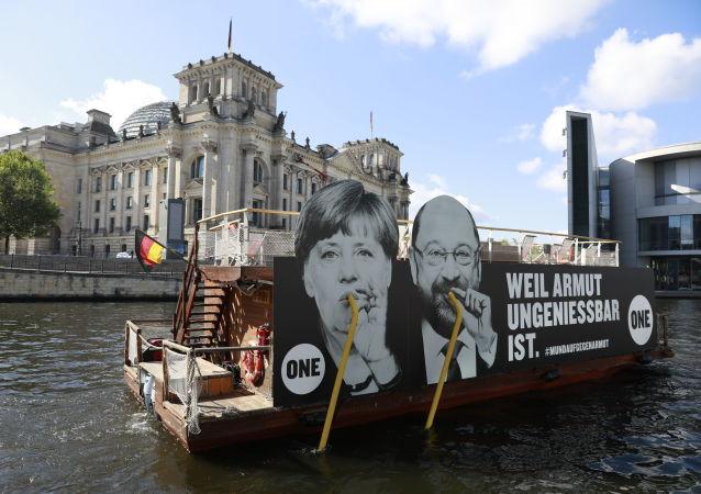 出口民调: 根据选举结果,6个党派进入德国议会