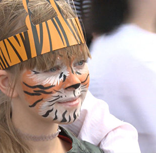 """我们会惩罚偷猎者,保护老虎,不让它们受欺负。"""""""
