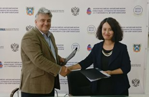 俄SPB TV电视台与中国日报传媒集团签署视频转播授权协议