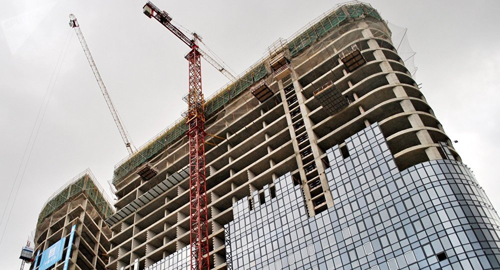 莫斯科中国贸易中心华铭园将于今年底竣工