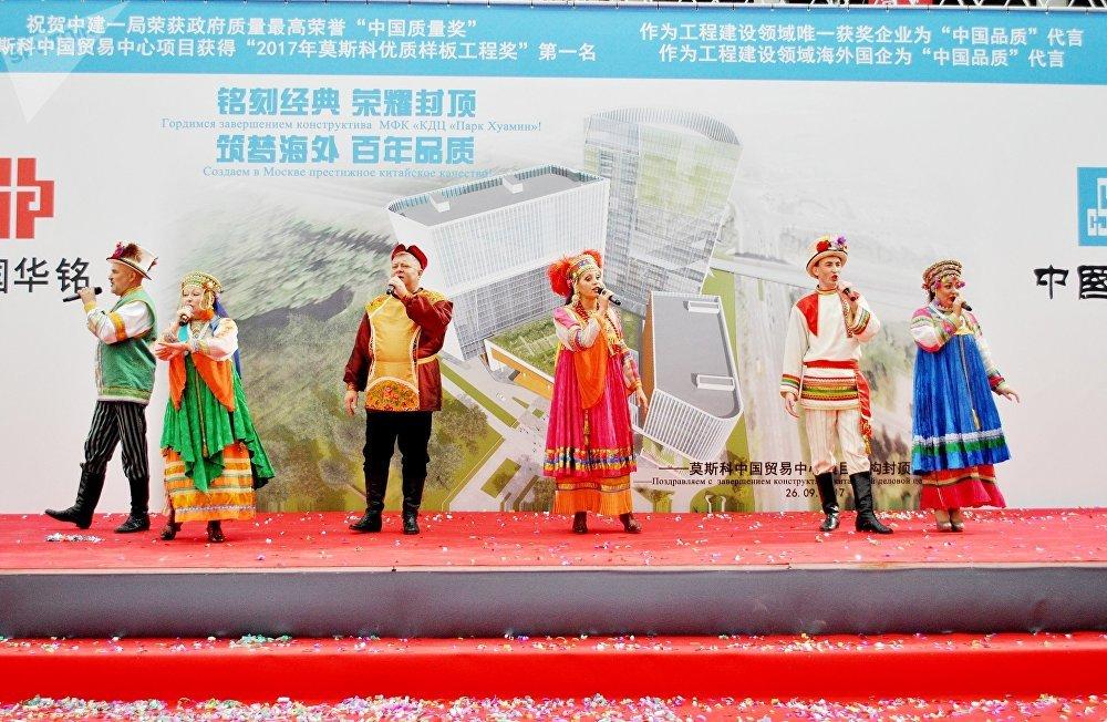 民族歌舞团表演