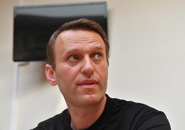 俄反对派人士纳瓦利内因3.1万美元的债务可能被限制出境