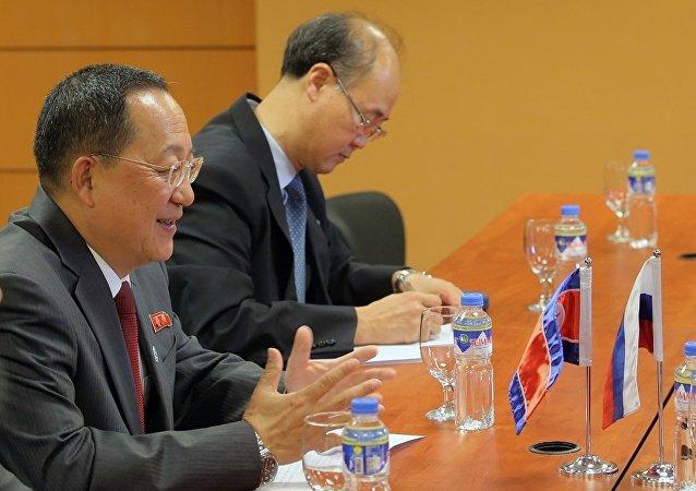 俄朝外交官在莫斯科就朝鲜半岛问题举行磋商