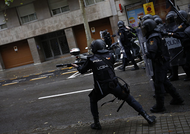 加泰羅尼亞警方
