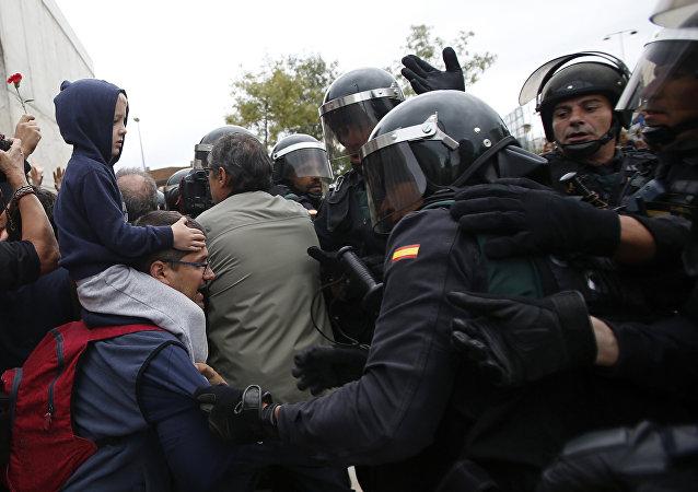 加泰罗尼亚骚乱