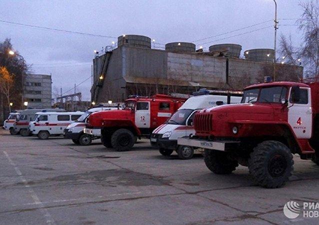 俄紧急情况部:彼尔姆边疆区钾盐矿井起火 逾270名矿工被疏散