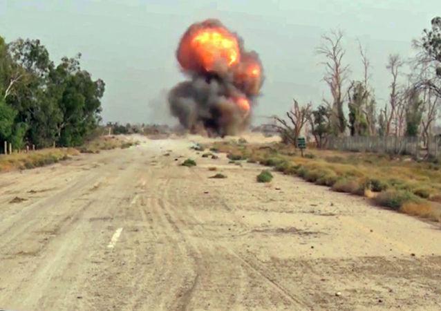 以色列空军摧毁叙利亚一支防空炮兵连