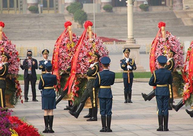 中國慶祝中華人民共和國成立68週年