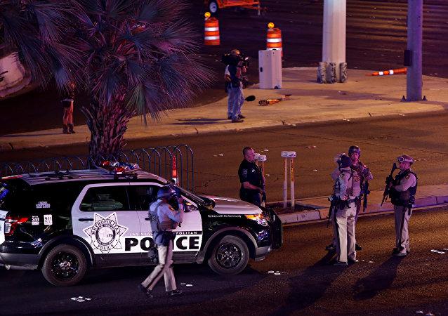 拉斯维加斯发生枪击案