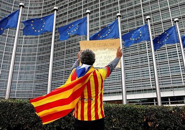 欧委会认为有关加泰罗尼亚公投的情况为西班牙内部问题