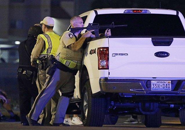 """恐怖组织""""伊斯兰国""""宣布为拉斯维加斯射击案负责"""
