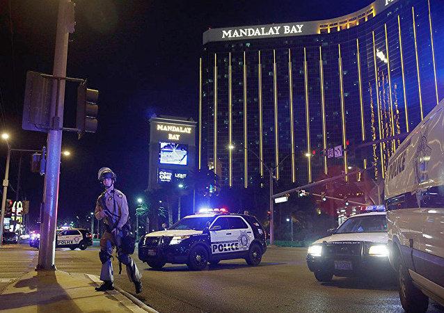 拉斯维加斯警长称仍不清楚犯罪分子对人群开火的动机