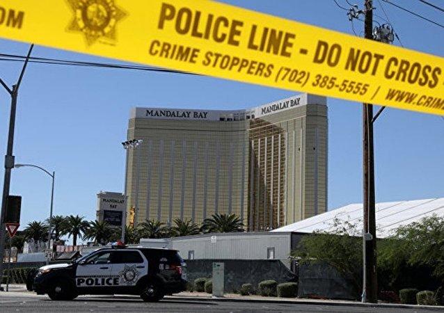 在拉斯维加斯的枪手处发现40多件武器