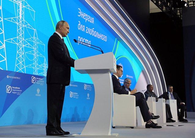 普京:某些国家为自身利益进行能源制裁